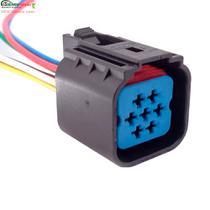 Chicote Plug Conector Farol Ford Ka Fiesta Courier Escort - Rainha Da Sete