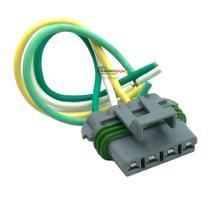 Chicote Plug Conector Flange Bomba de Combustível Cobalt, Cruze, Onix, Sonic - Tc Chicotes