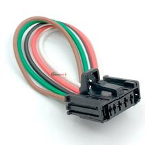 Chicote Plug Conector Resistência Ar Peugeot 206 207 307 - Rainha Da Sete