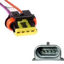 Chicote Plug P/ Atuador Marcha Lenta S10 Blazer 2.2 - Rainha Da Sete