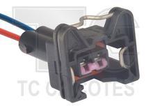 Chicote sensor temperatura/bico/atuador tc vw, fiat- bico vw, gm, fiat-sensor rotacao mille atuador m.lenta ka, fiesta-sensor detonacao clio - Tc Chicotes