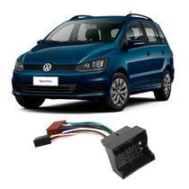 Chicote Volkswagen SpaceFox 2006 a 2018 Adaptador Rádio DVD CD Multimídia - Ludovico