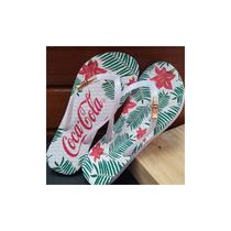 Chinelo coca cola shoes feminino flowers of summer cc2492 - Coca-Cola Shoes