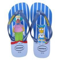 Chinelo Havaianas Estampado Os Simpsons -