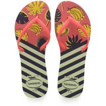 Chinelo Havaianas Feminino Flat Mix 39/0 Bege Palha/Rose Havaianas -