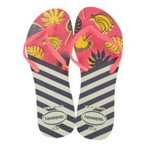 Chinelo Havaianas Flat Mix Estampada Laranjas -