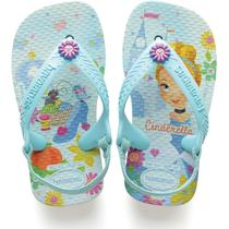 Chinelo Havaianas Infantil New Baby Chic 20 Branco Havaianas -