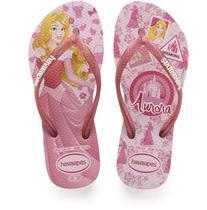a01cc02d67 Chinelo Havaianas Infantil Princesas SLIM 25 6 Rosa Quart