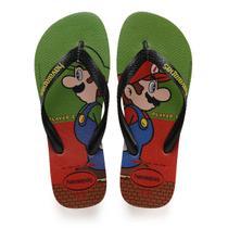 Chinelo Havaianas Infantil Super Mario BROS 29/0 Morango -