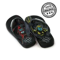 Chinelo havaianas kids max herois masculino infantil - 4130302 -