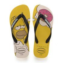 Chinelo Havaianas Masculino The Simpsons 39/0 Amarelo Havaianas -