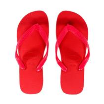 Chinelo Havaianas Top Vermelho Rubi - As Legitimas Original -