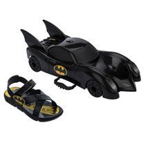 Chinelo Infantil Grendene Kids Batman Batmovel -