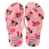 Chinelo Infantil Havaianas Slim Disney Minnie Feminino -