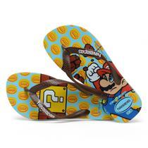 Chinelo Infantil Mario Bros Havaianas -