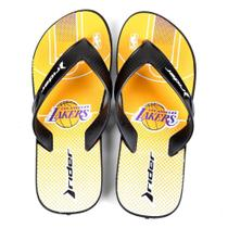 Chinelo NBA Los Angeles Lakers Rider Street Bold Ad Masculino -