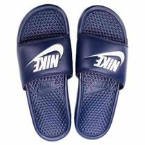 Chinelo Nike Benassi Just Do It Masculino - Azul