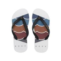 Chinelo Switchfoot Foundation Ultra Resistente Branco Reef