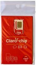 Chip Claro 4G 3 em 1 -