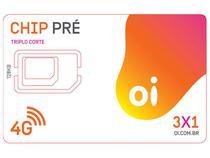 Chip Oi 3 em 1 Pré - DDD 88 CE Tecnologia 4G