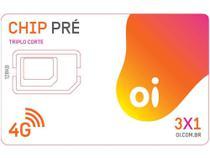 Chip Oi 4G Pré-Pago - DDD 11 a 19 SP -