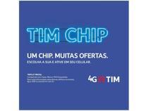 Chip TIM 4G - Pré-Pago/Controle -