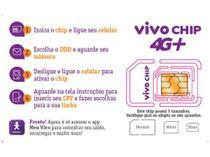 Chip Triplo Corte Vivo 4G - Cobertura Nacional -