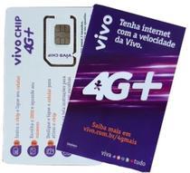 Chip Vivo 4G 3 em 1 -