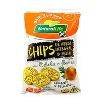 Chips de arroz e milho sabor cebola e salsa sem glúten 70g  n.life - Natural Life