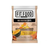 Chips de Mix Vegetais  Fit Food  40g - Fitfood