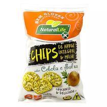 Chips sabor cebola & Salsa 70G Natural Life -