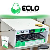 Chocadeira Automática 80 á 90 Ovos Galinha Ovoscópio eclo chocadeira 220v -