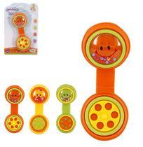 Chocalho divertido telefone brinca bebe colors na cartela ref: wb6080 - Wellmix