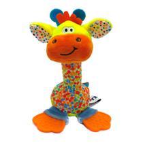 Chocalho e Mordedor de Pelúcia - Girafa - Love -