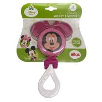 Chocalho e Mordedor - Disney - Minnie - Branco - Elka -