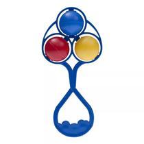 Chocalho lolly colorido -