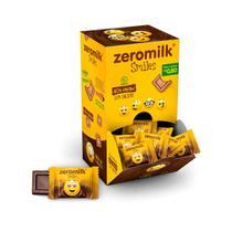 Chocolate 40% Cacau Smile Zero Lactose Display com 30 un. de 5g - ZeroMilk -