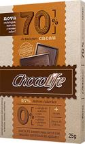 Chocolate 70 Cacau Chocolife 25g