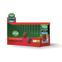 Chocolate Ao Leite Com Cereais Zero Açúcar com 18 unidades de 30g - Vitao -