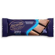 Chocolate ao Leite Zero Açúcar 20g - Laciella -