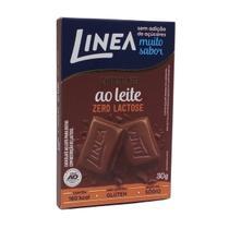 Chocolate ao Leite Zero Lactose Linea 30g -