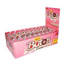 Chocolate Baton Creme De Morango 16gr C/30un - Garoto -