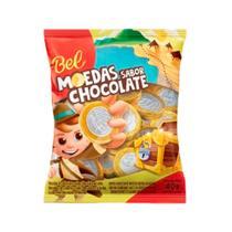 Chocolate Bel Moedas Sabor Chocolate 40g -