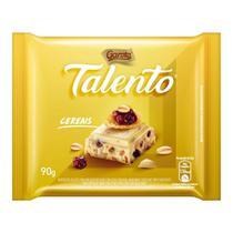 Chocolate Branco Garoto Talento Cereais e Uvas Passas com 90g -