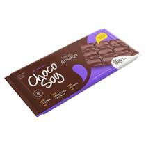 Chocolate Choco Soy Meio Amargo 47% Cacau 80g -