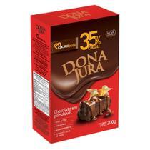 Chocolate em Pó 35% Dona Jura 200g Cacau Foods -