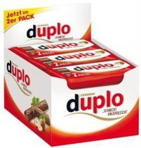 Chocolate ferrero duplo - 24 unidades (24 x 18,2g = 436,8g) -