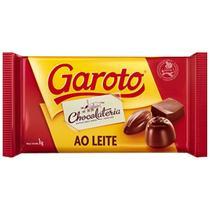 Chocolate Garoto Barra 1Kg Ao Leite -