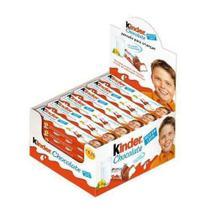 Chocolate Kinder Ao Leite C/24un 12,5gr - Ferrero -