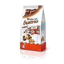 Chocolate kinder bueno mini - leite e avelãs 108g -